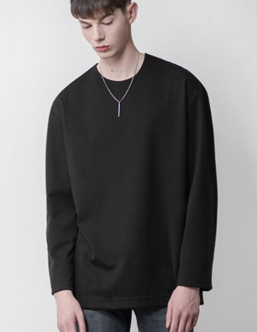 19SS VENT LAYERED T-SHIRT [BLACK]