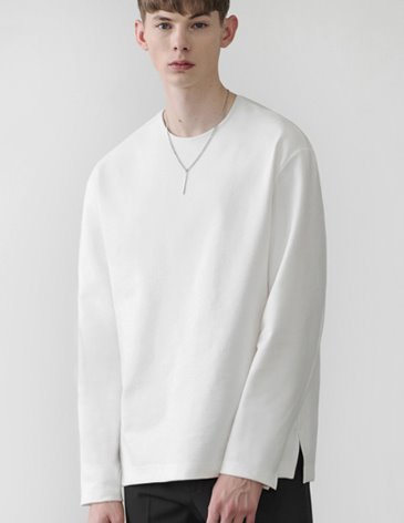 19SS VENT LAYERED T-SHIRT [WHITE]
