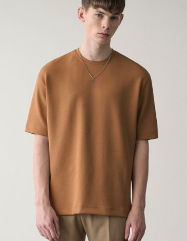 ESSENTIAL BASIC T-SHIRTS [MUSTARD]